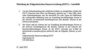 Steuersünder UrUrenkel ovB Namen im Netz veröffentlicht - Darum enttarnt die Schweiz mutmaßliche Steuerhinterzieher